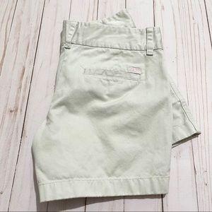 VINEYARD VINES Khaki Cotton Chino Shorts Size 0